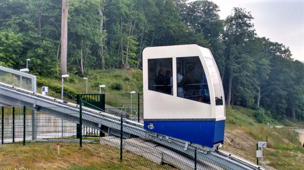 Foto: Fahrwerk für Schrägaufzug/Ostseebad Göhren